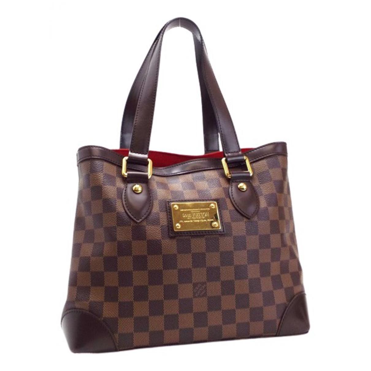 Louis Vuitton Hampstead Brown Cloth handbag for Women \N