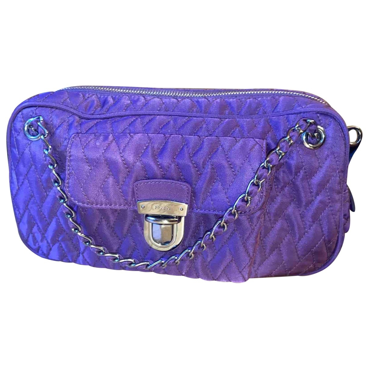 Prada \N Purple Cloth handbag for Women \N