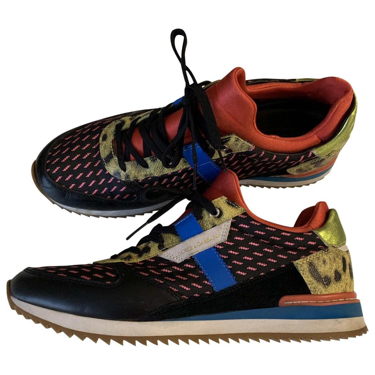Dolce & Gabbana - Baskets   pour femme - multicolore