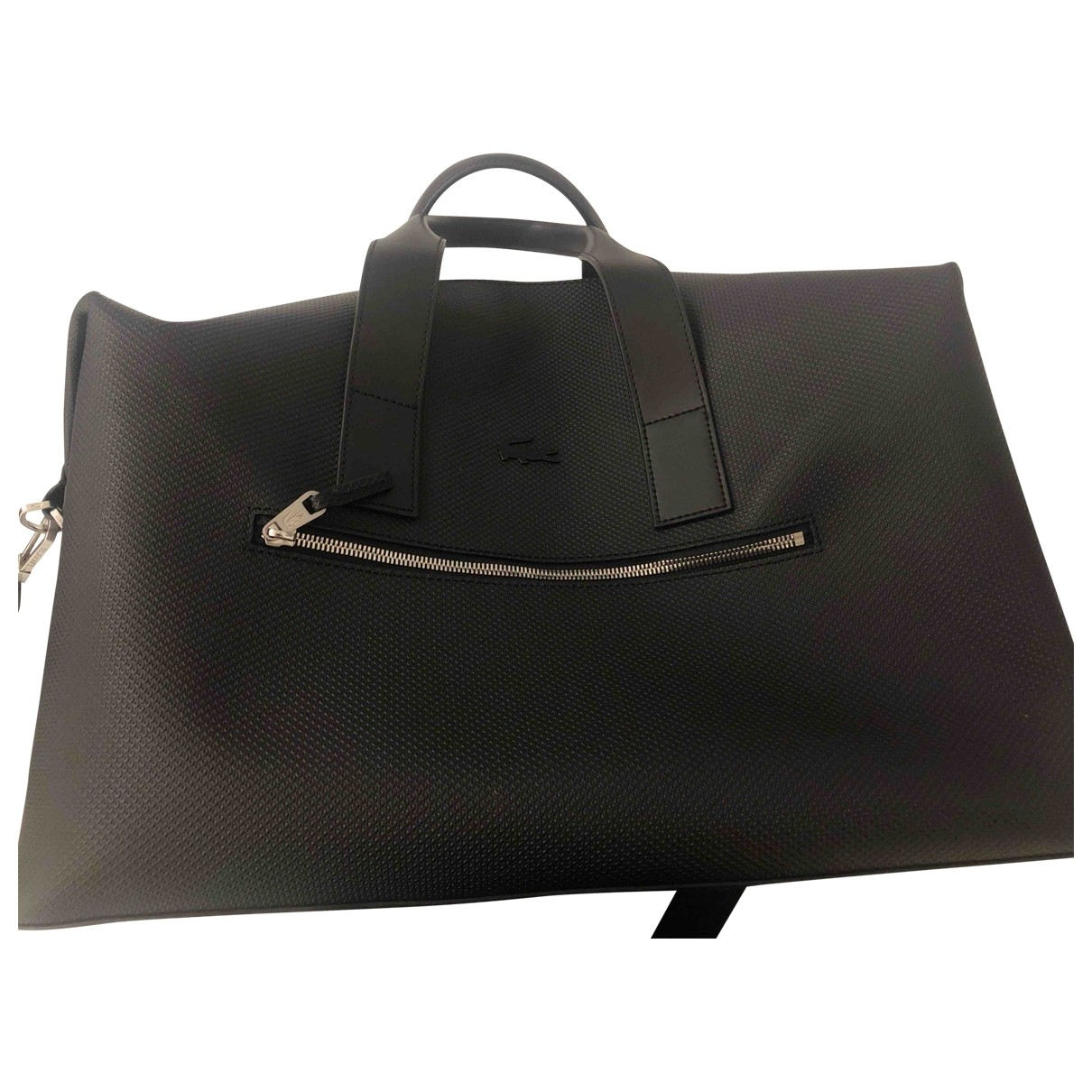 Lacoste \N Black Leather bag for Men \N