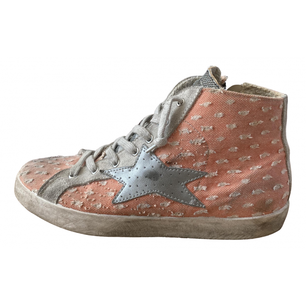 Non Signe / Unsigned \N Sneakers in  Rosa Leder