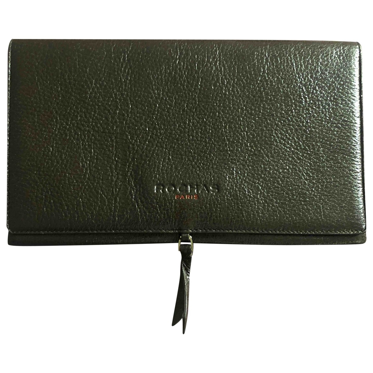 Rochas \N Brown Leather Clutch bag for Women \N