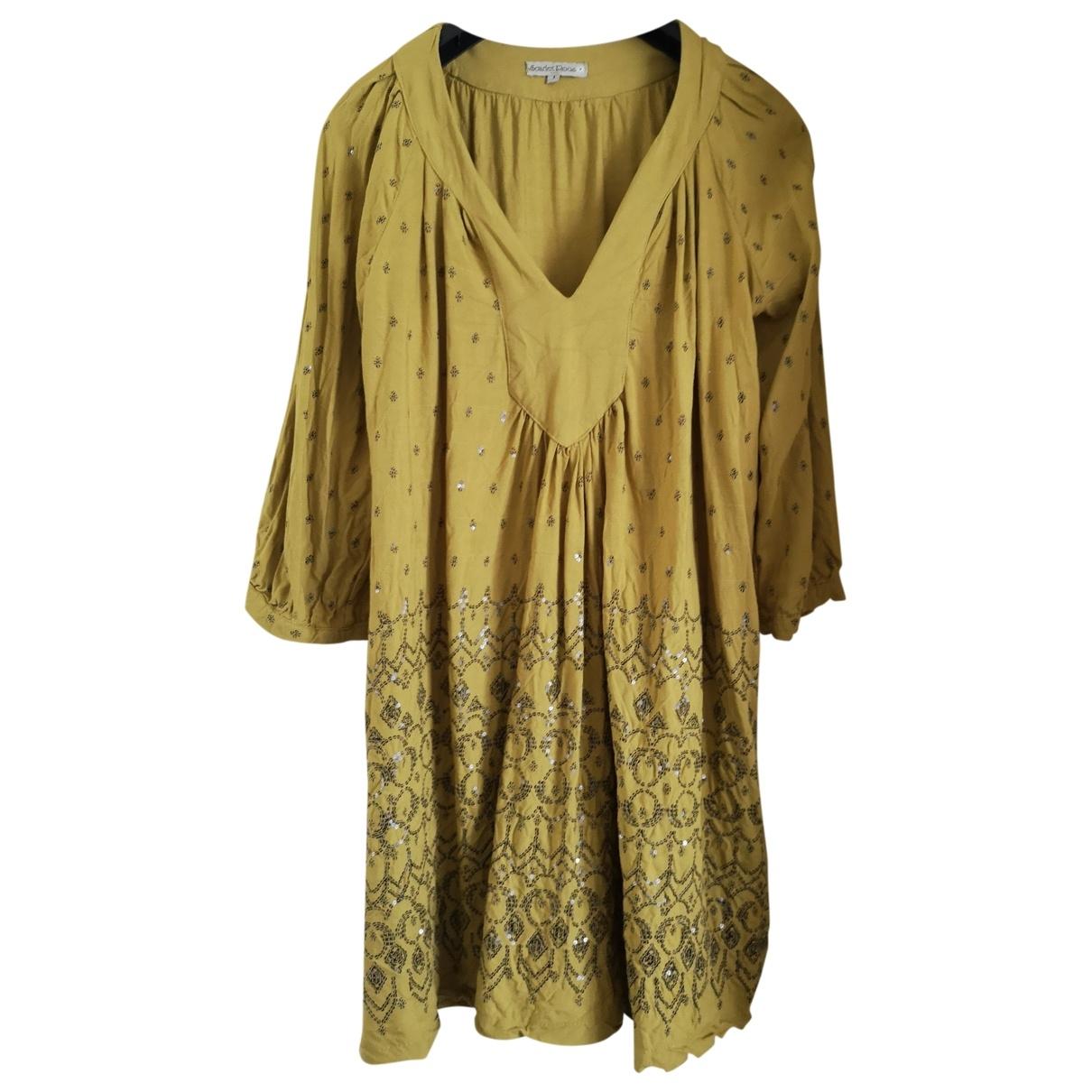 Scarlett Roos \N Kleid in  Gruen Viskose