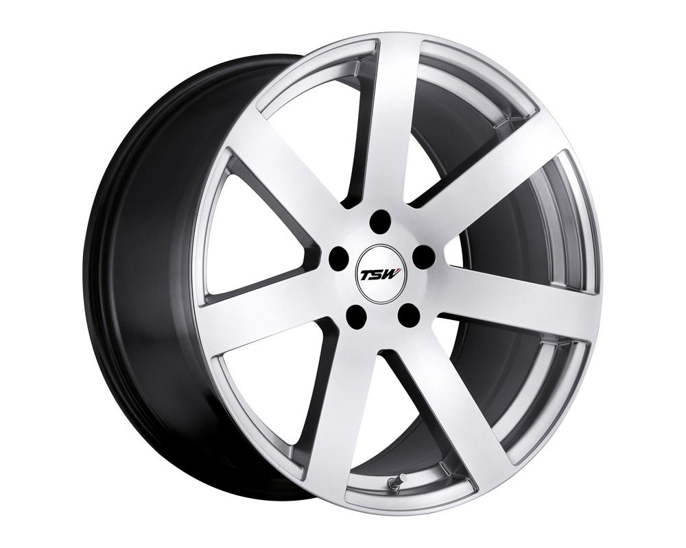 TSW Bardo Wheel 17x8 5x112 32mm Hyper Silver