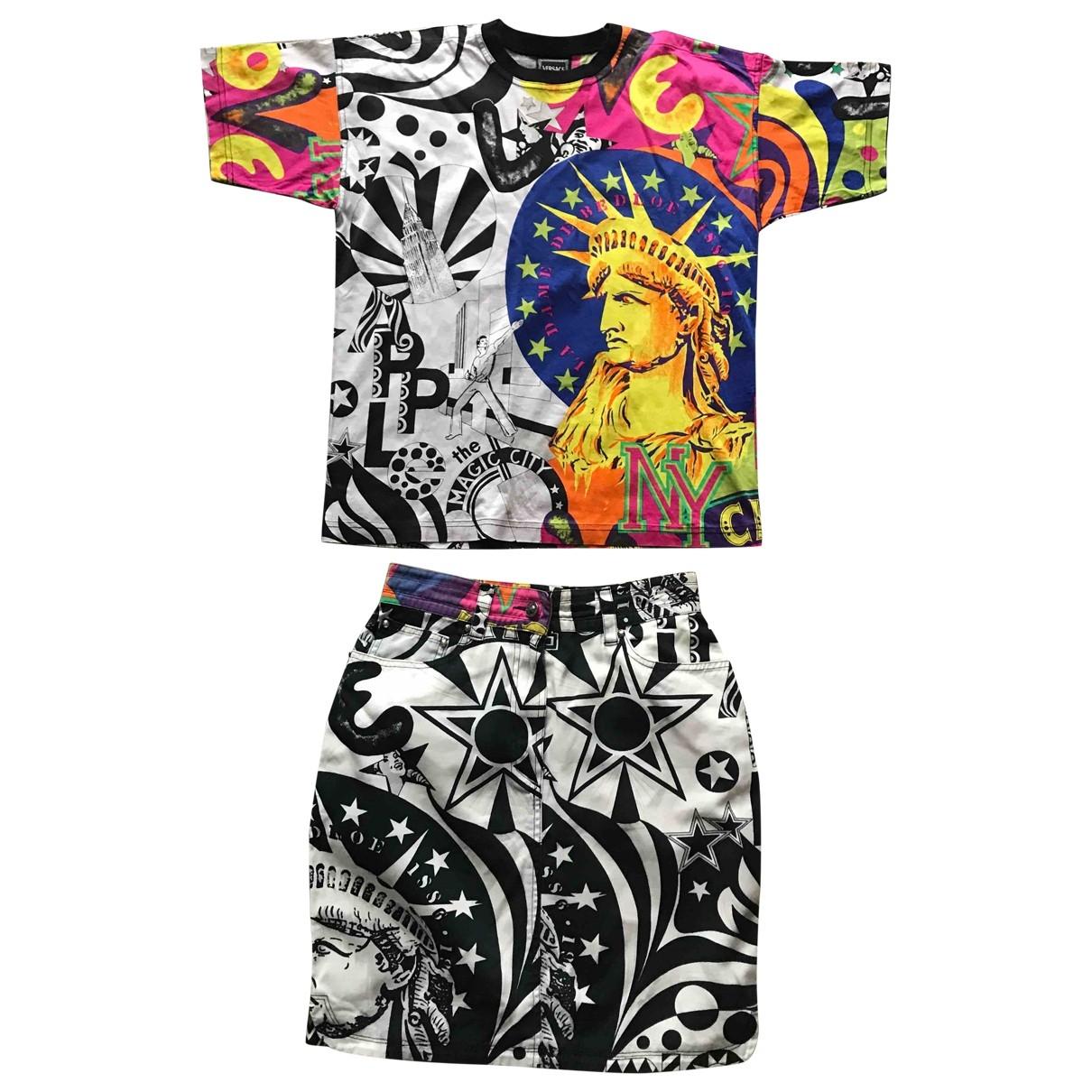Versace Jean - Combinaison   pour femme en coton - multicolore