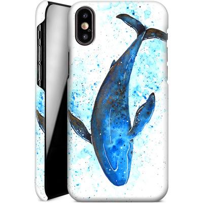 Apple iPhone X Smartphone Huelle - Whale Dive von Becky Starsmore