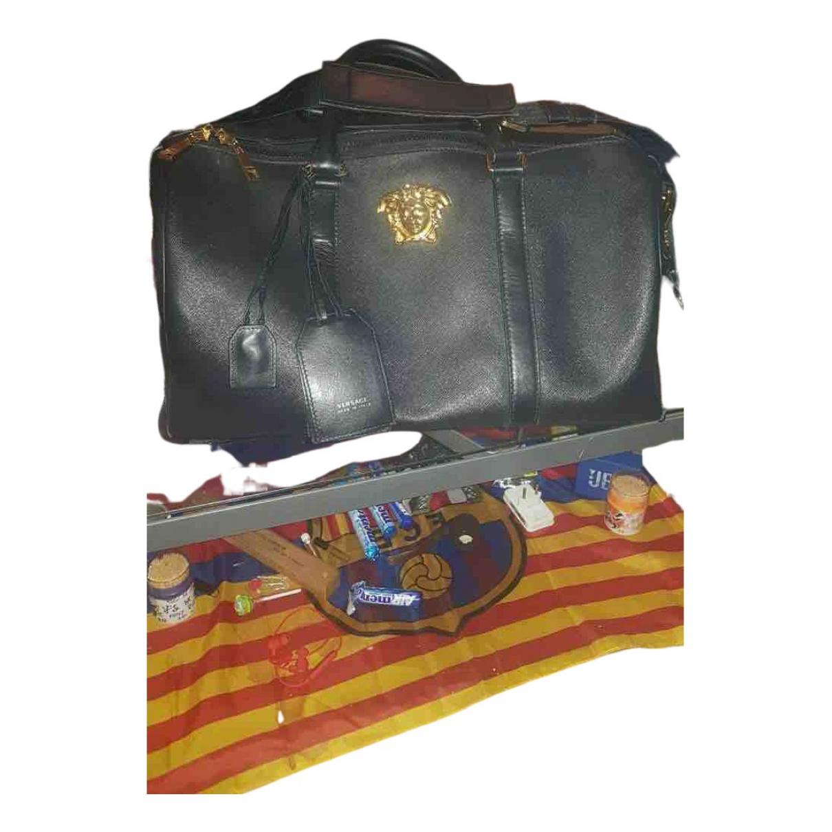 Bolso de viaje de Cuero Gianni Versace