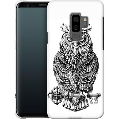 Samsung Galaxy S9 Plus Smartphone Huelle - Great Horned Owl von BIOWORKZ
