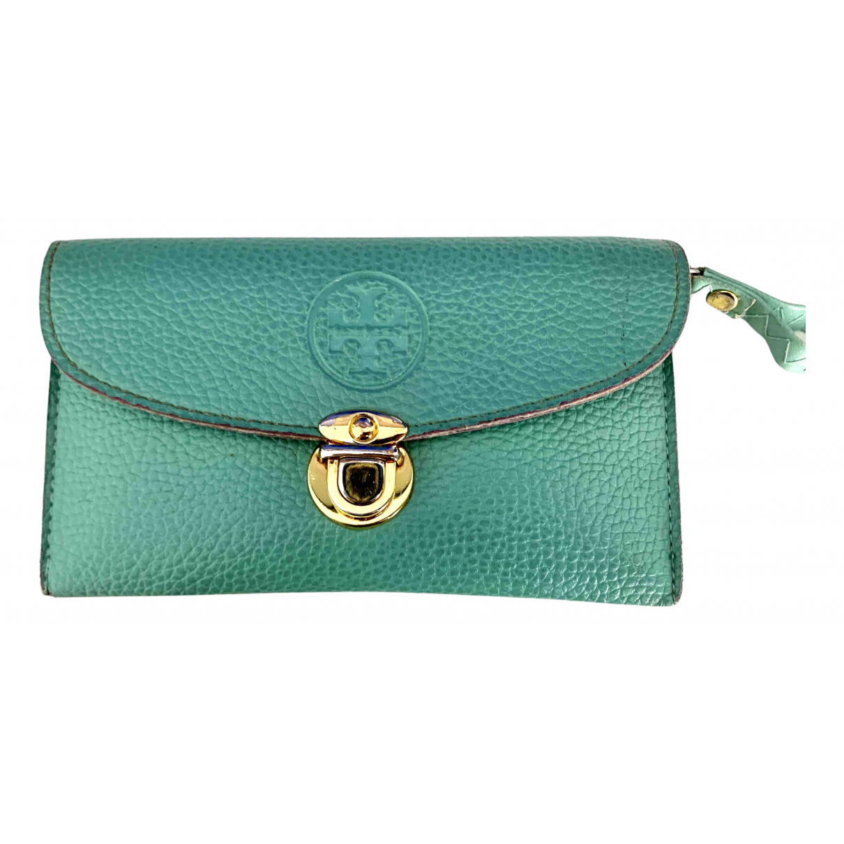 Tory Burch N Turquoise Leather wallet for Women N