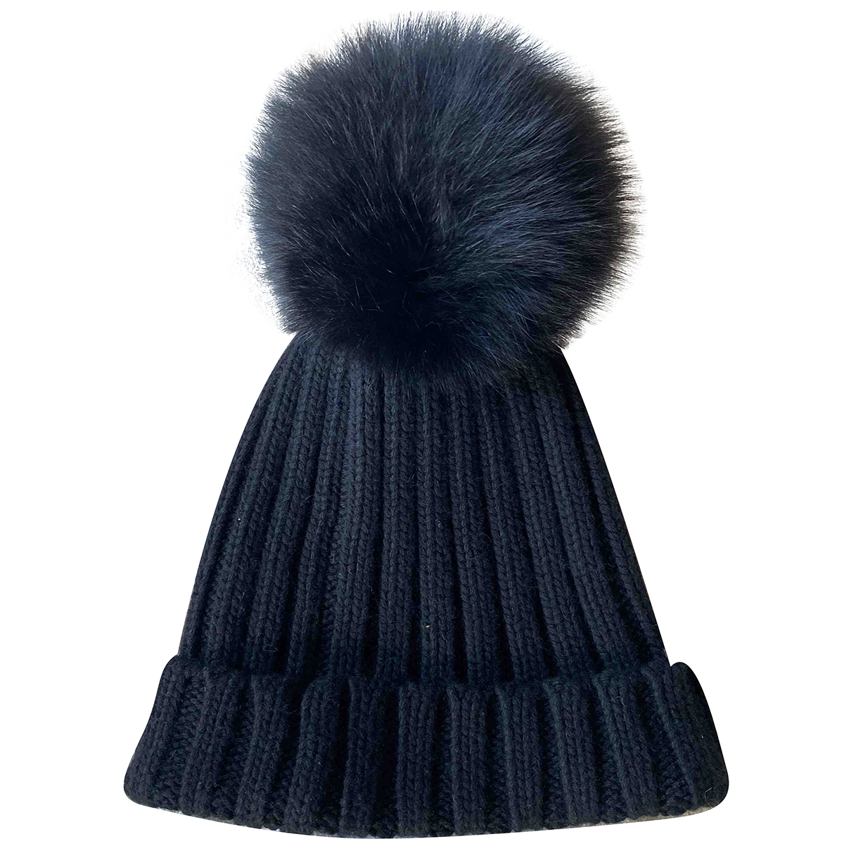 Non Signé / Unsigned \N Black Wool hat for Women 57 cm