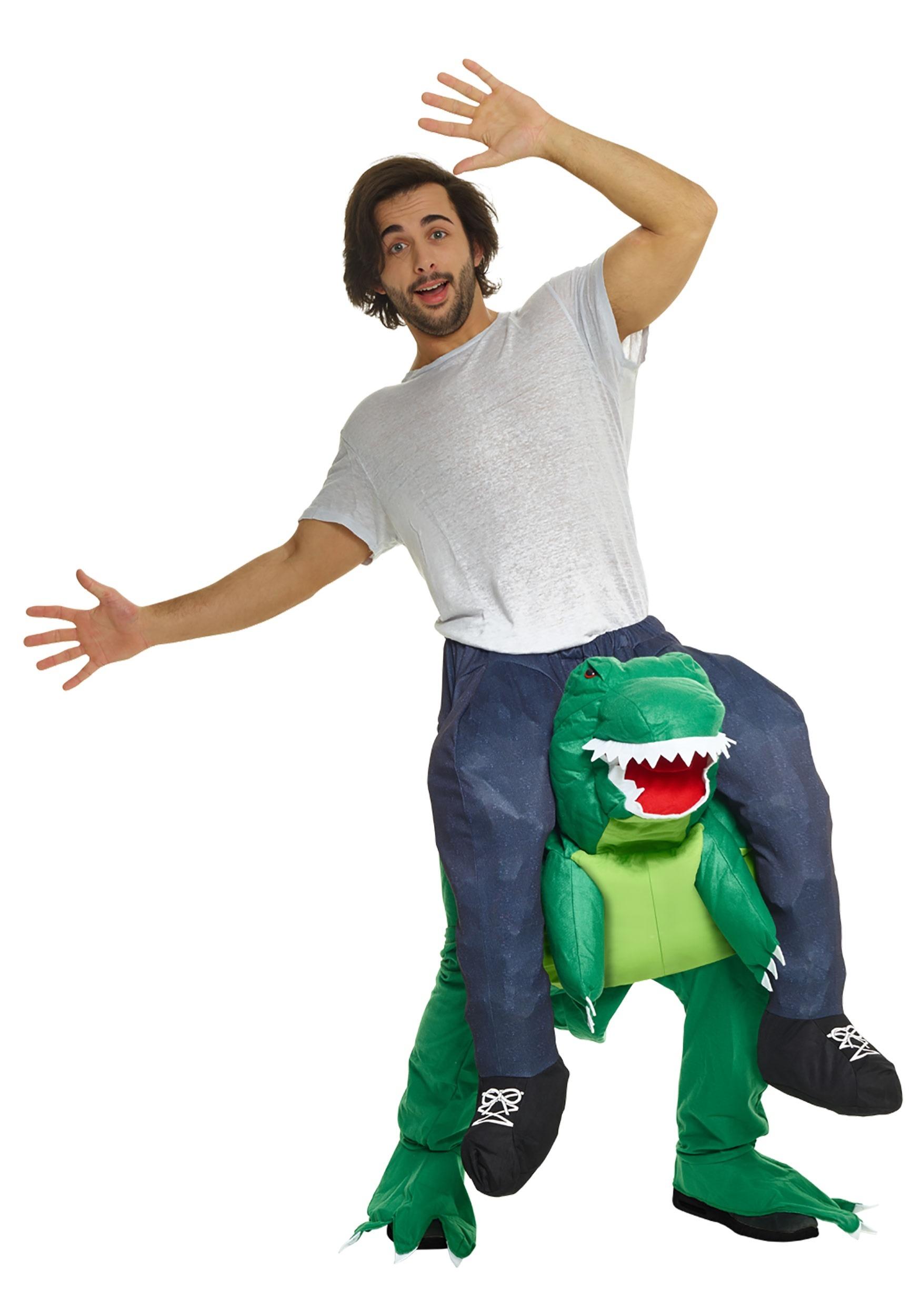 Adult T-Rex Piggyback Costume
