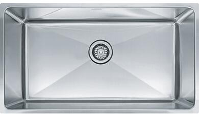 PSX110339 Professional Series 34 Undermount Single Bowl Sink in Stainless