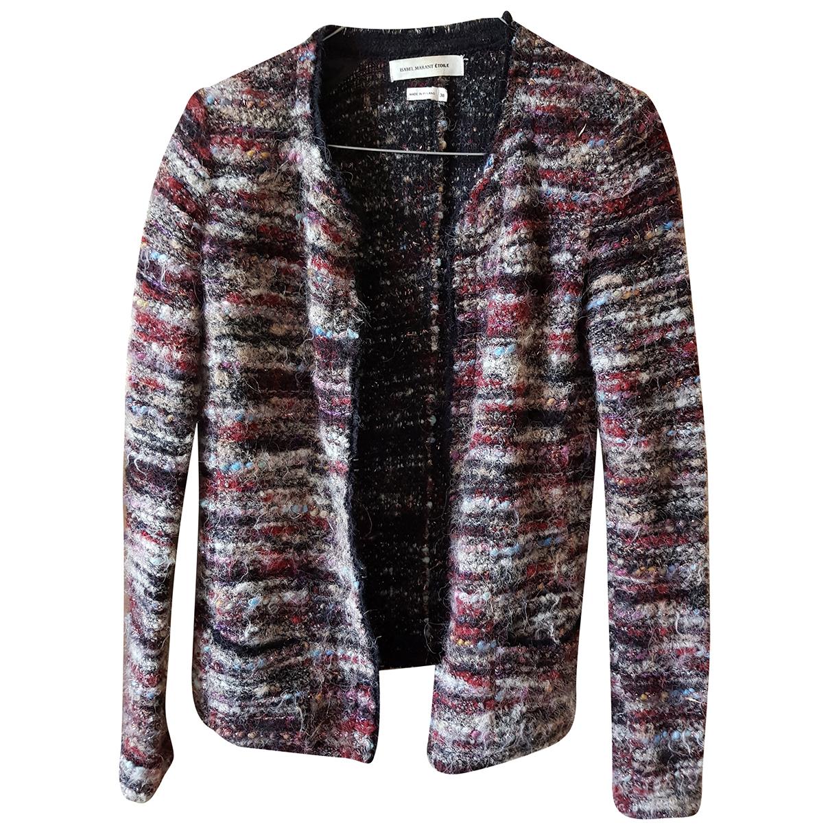 Isabel Marant Etoile - Veste   pour femme en laine - bordeaux