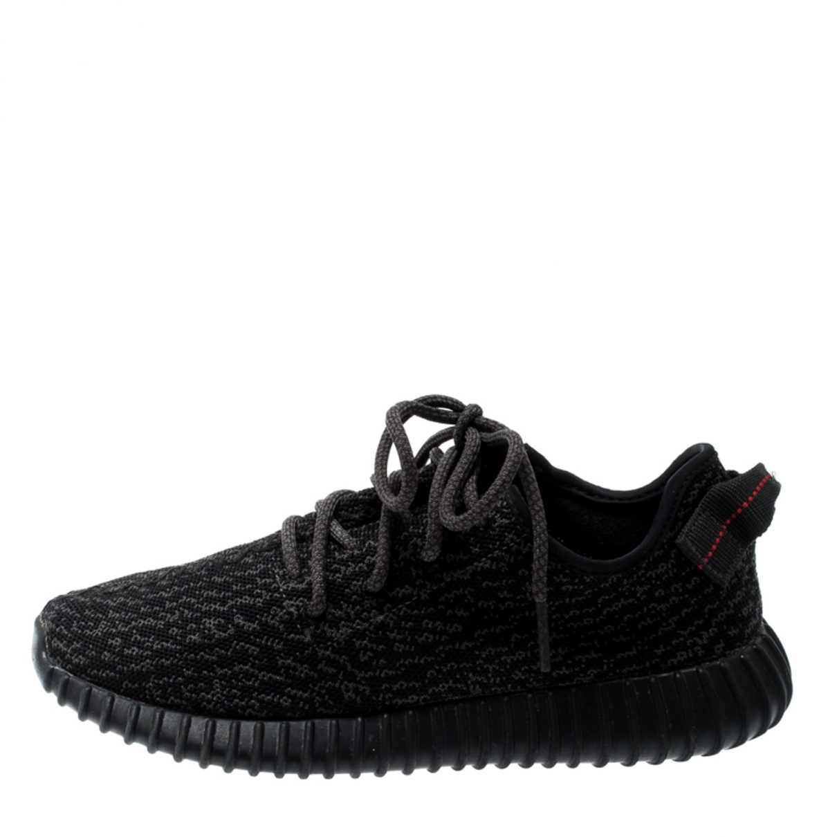 Yeezy X Adidas Boost 350 V1 Sneakers in  Schwarz Leinen