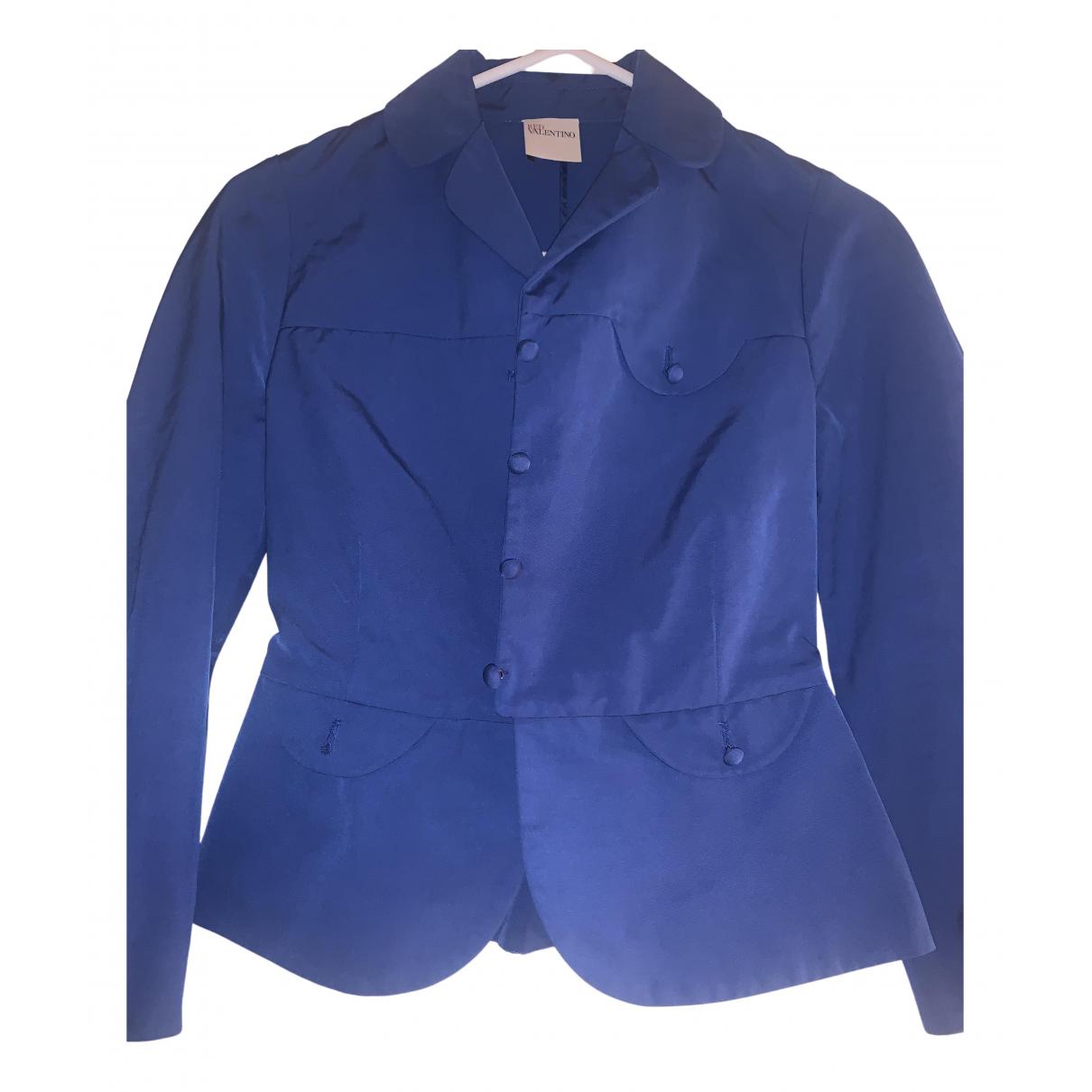 Red Valentino Garavani - Veste   pour femme en coton - bleu