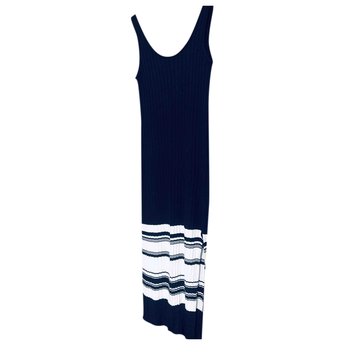 Massimo Dutti \N Kleid in  Bunt Baumwolle
