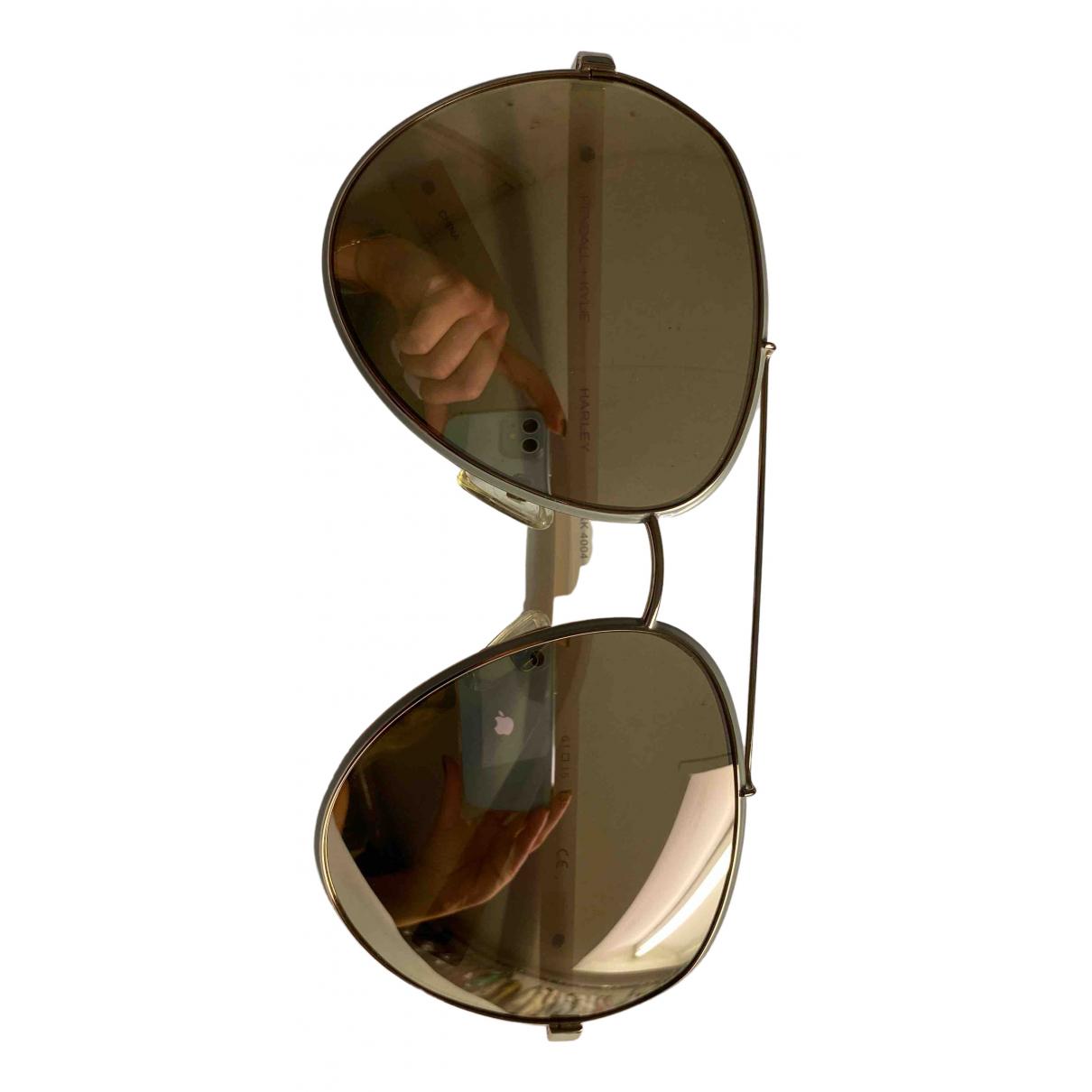 Kendall + Kylie N Pink Metal Sunglasses for Women N