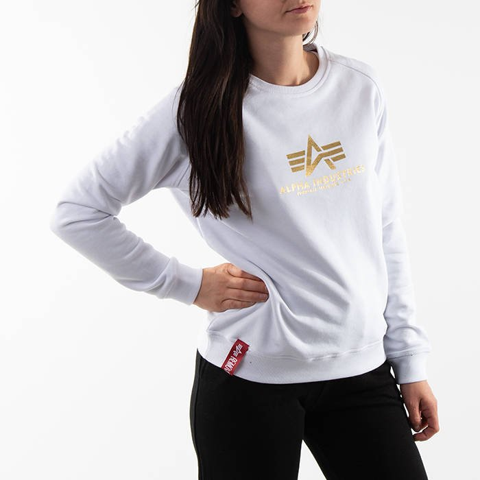 Alpha Industries New Basic Sweater Wmn Foil Print 196031FP 529