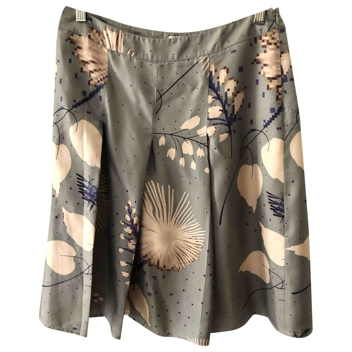 Miu Miu \N Multicolour Silk skirt for Women 40 IT