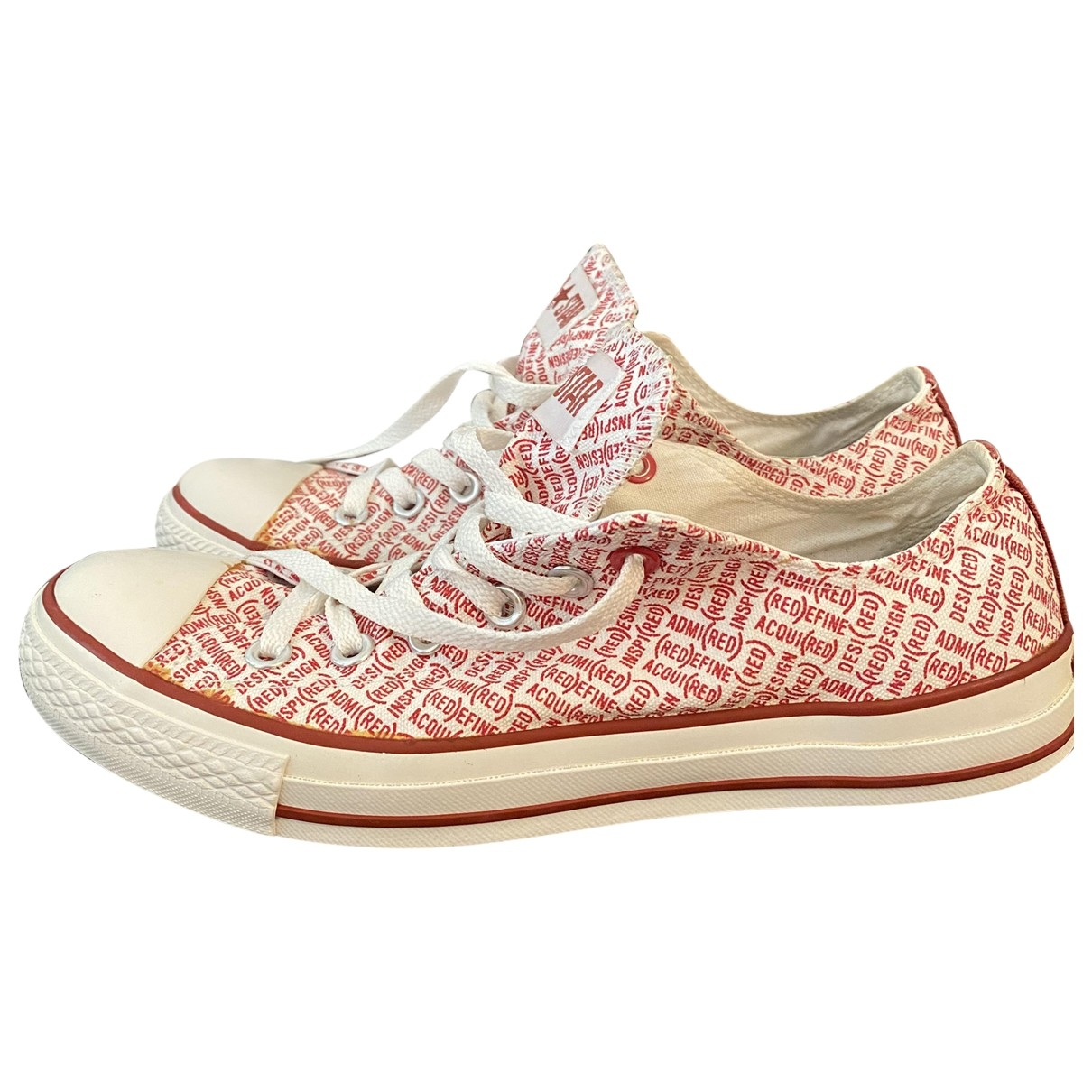 Converse \N Sneakers in  Weiss Polyester