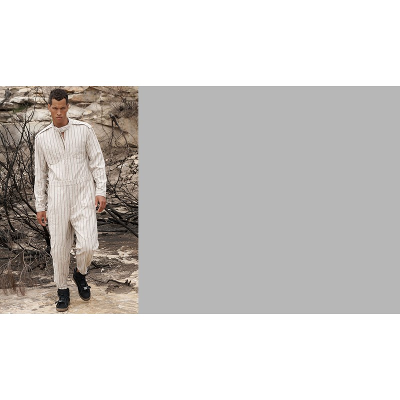 STONE STRIPE CANYON UTILITY SUIT