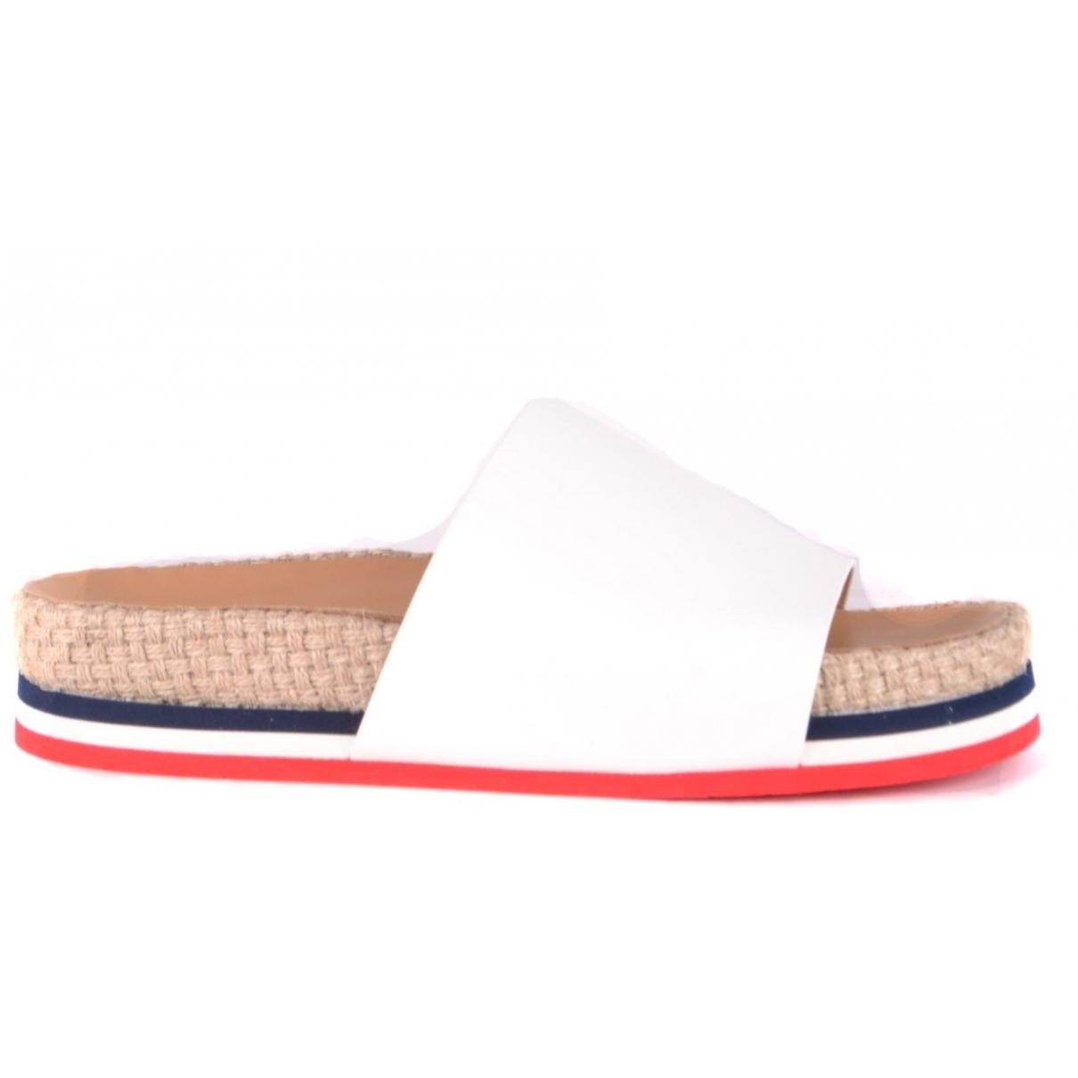 Moncler \N Sandalen in  Bunt Leder