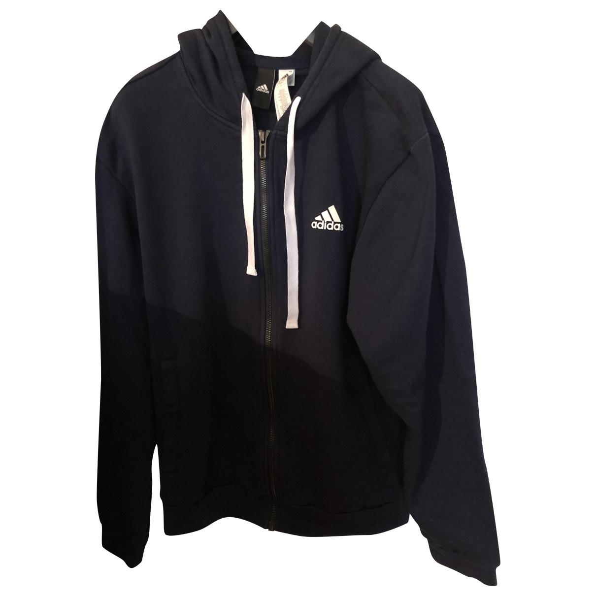 Adidas \N Pullover.Westen.Sweatshirts  in  Blau Baumwolle