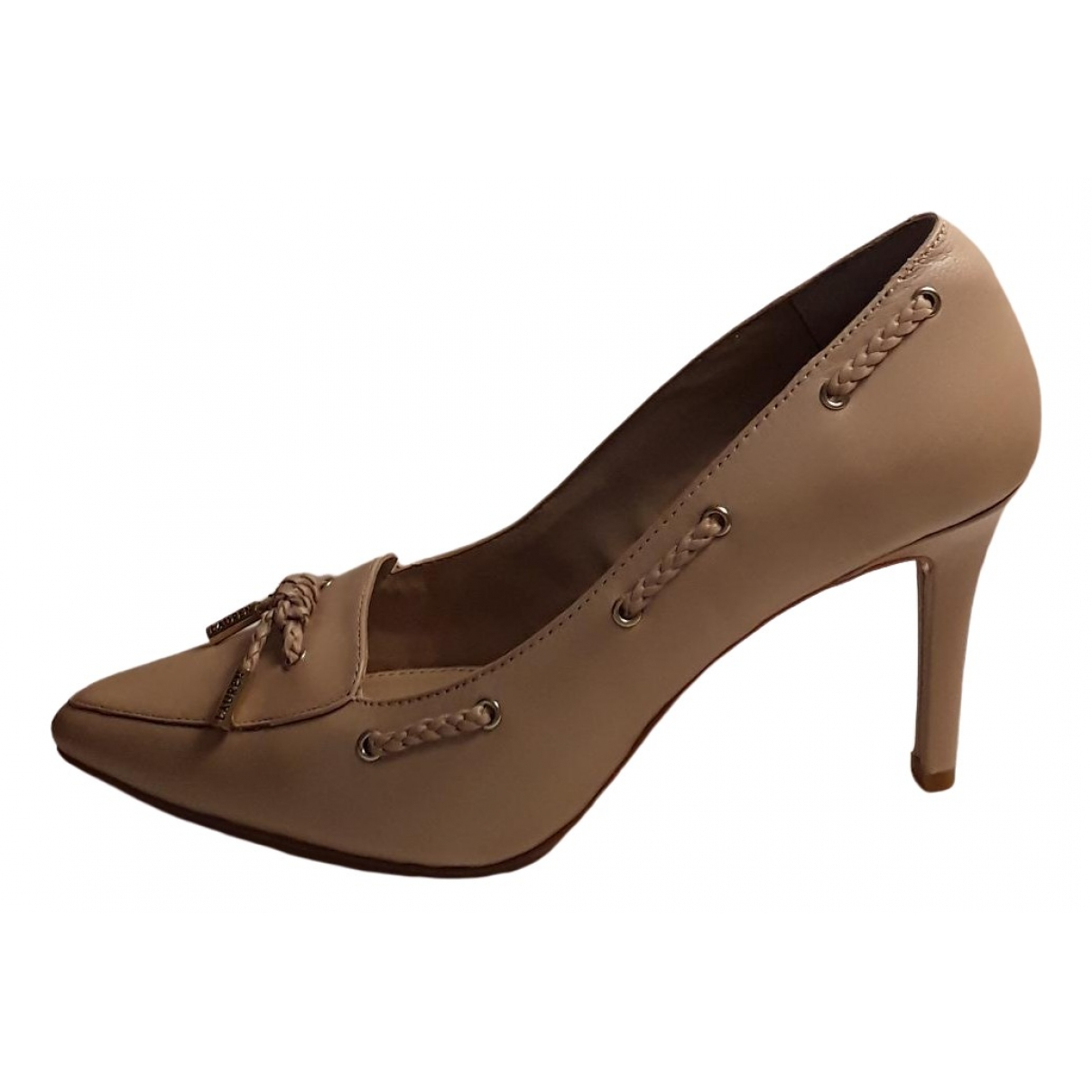 Ralph Lauren \N Pumps in  Beige Leder