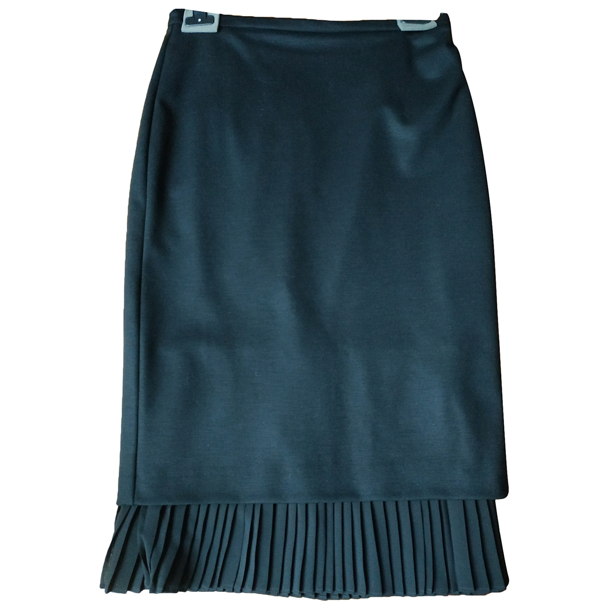 Max Mara \N Black Wool skirt for Women 44 IT