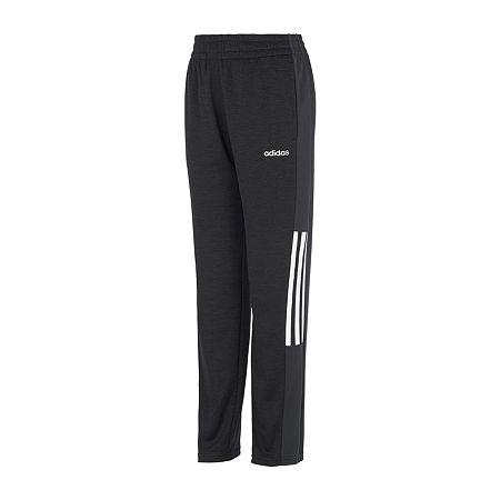adidas Little Boys Workout Pant, 5 , Black