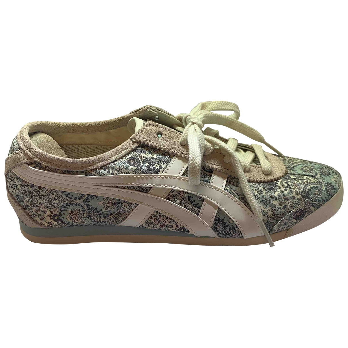 Onitsuka Tiger \N Beige Cloth Trainers for Women 7.5 US