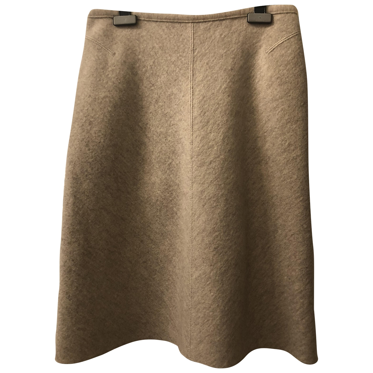 Alaïa \N Ecru Wool skirt for Women M International