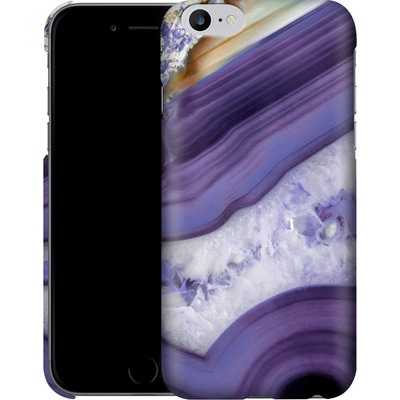 Apple iPhone 6s Plus Smartphone Huelle - Purple Agate von Emanuela Carratoni