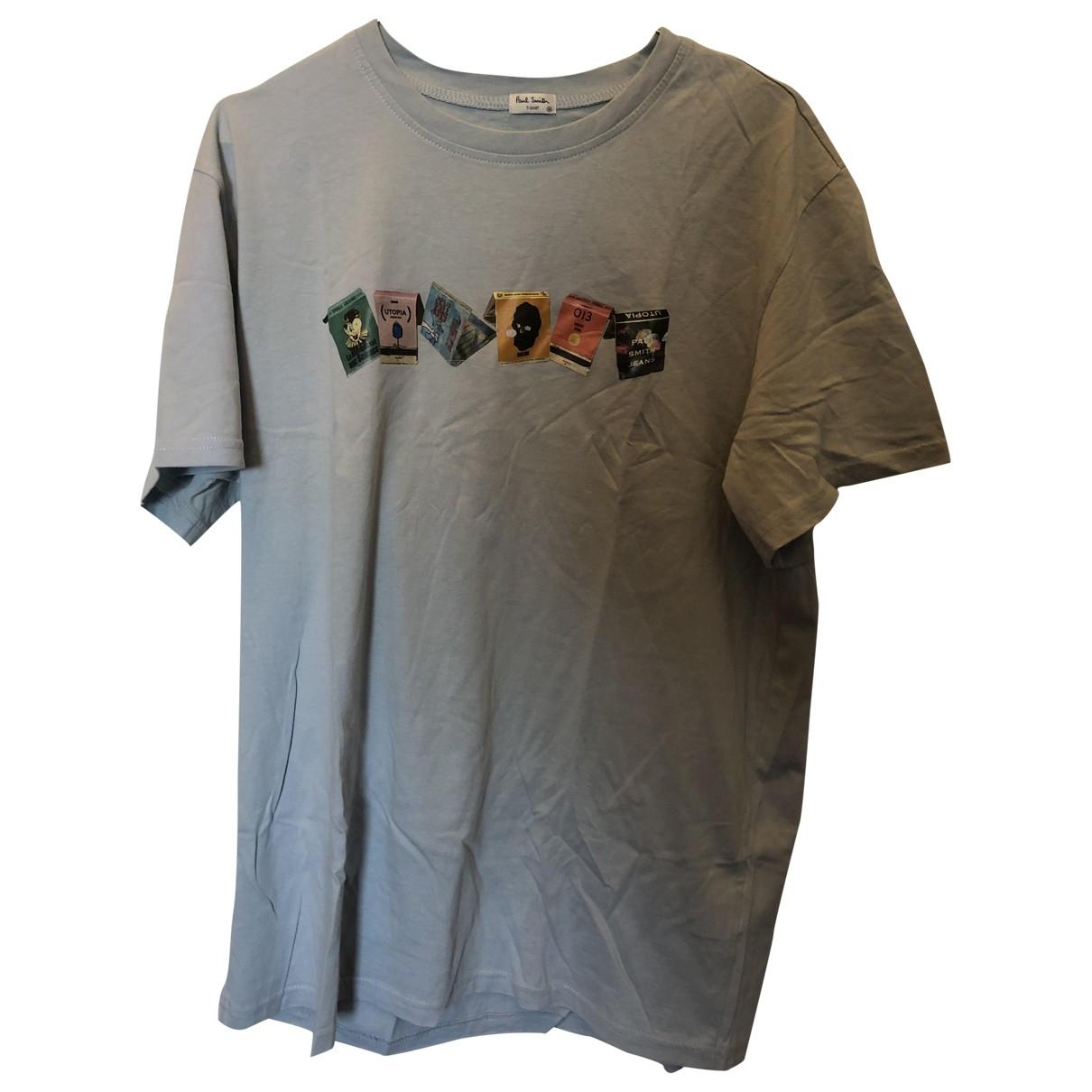 Paul Smith - Tee shirts   pour homme en coton - gris