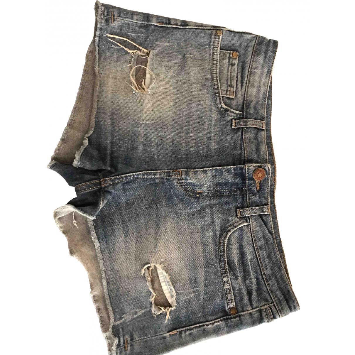 Zara \N Blue Denim - Jeans Shorts for Women 38 IT