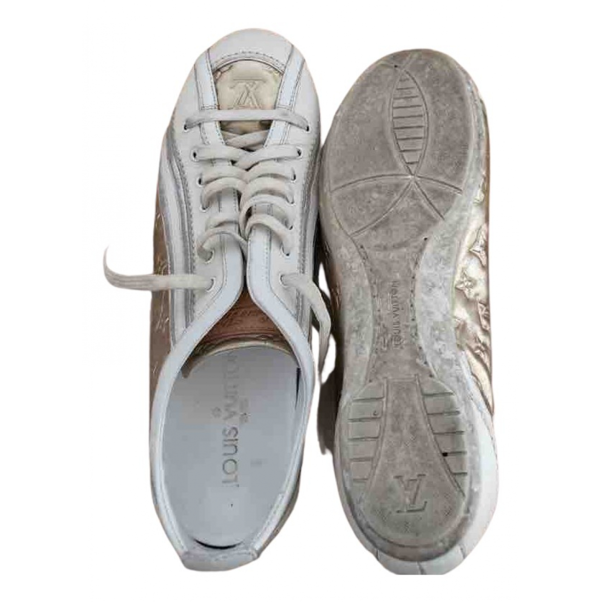 Louis Vuitton \N Sneakers in  Bunt Leder