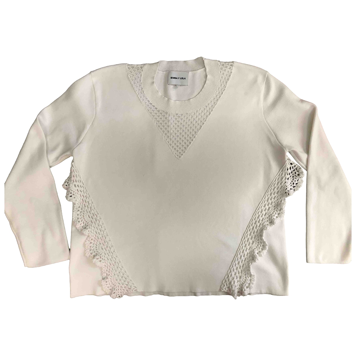 Bimba Y Lola \N White  top for Women M International