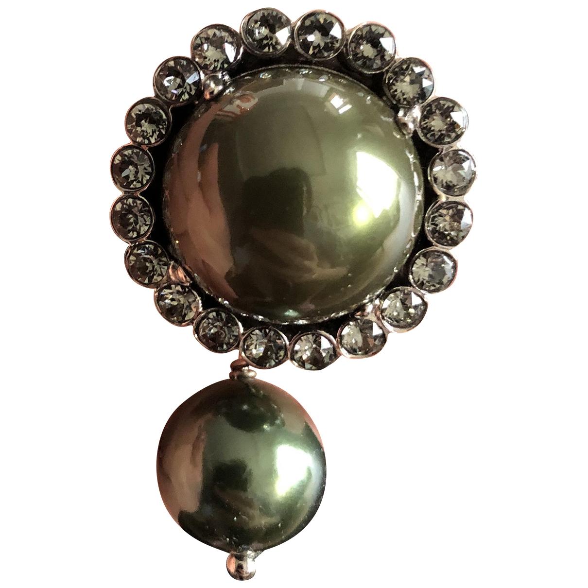 Miu Miu - Boucles doreilles   pour femme en perles - vert