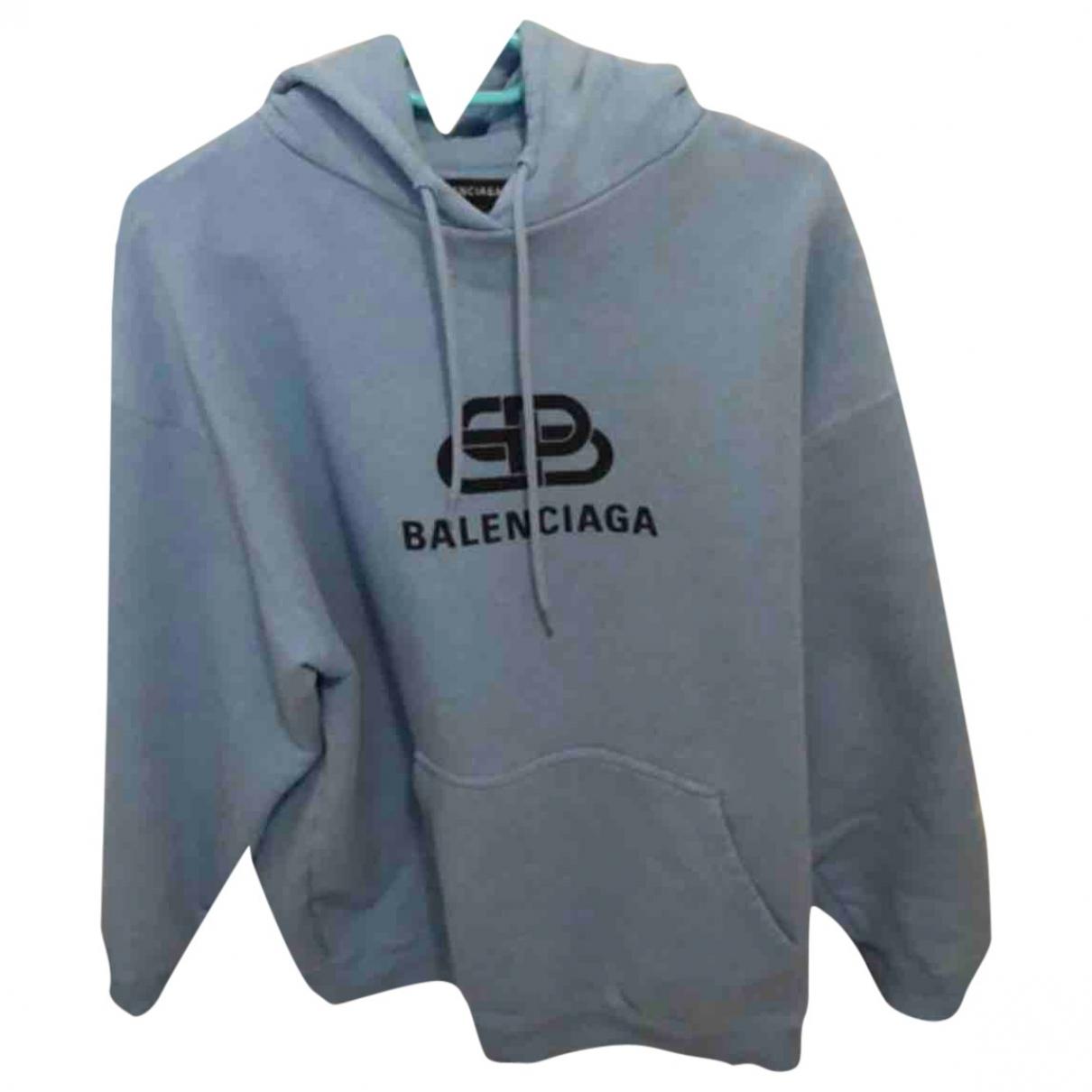 Balenciaga - Pulls.Gilets.Sweats   pour homme en coton - bleu