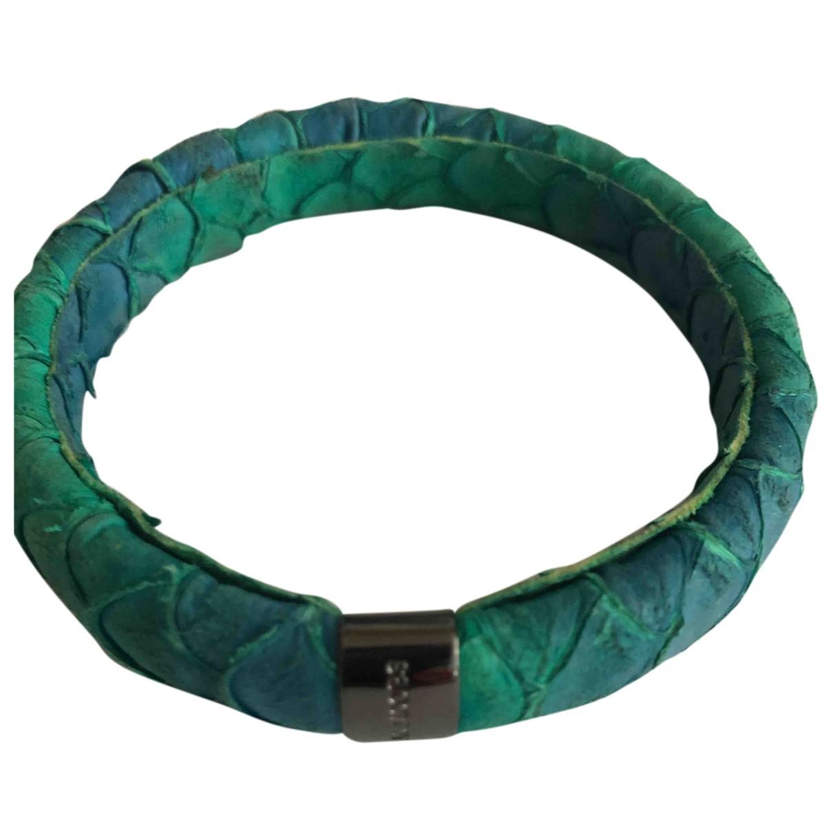 Marc Jacobs N Green Leather bracelet for Women N