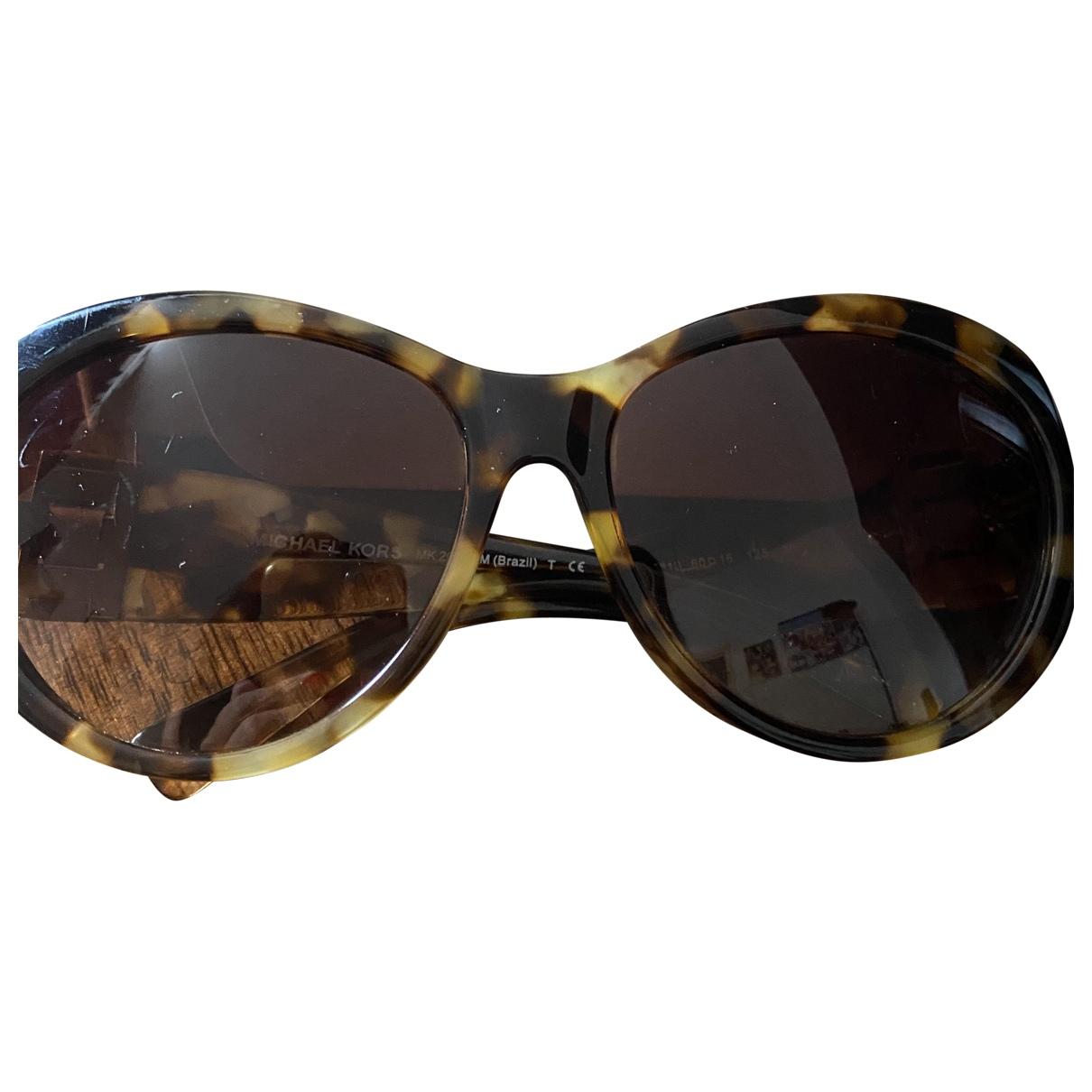 Michael Kors \N Sonnenbrillen in  Kamel Kunststoff