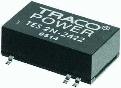 TRACOPOWER TES 2N 2W Isolated DC-DC Converter Surface Mount, Voltage in 4.5 → 9 V dc, Voltage out 12V dc