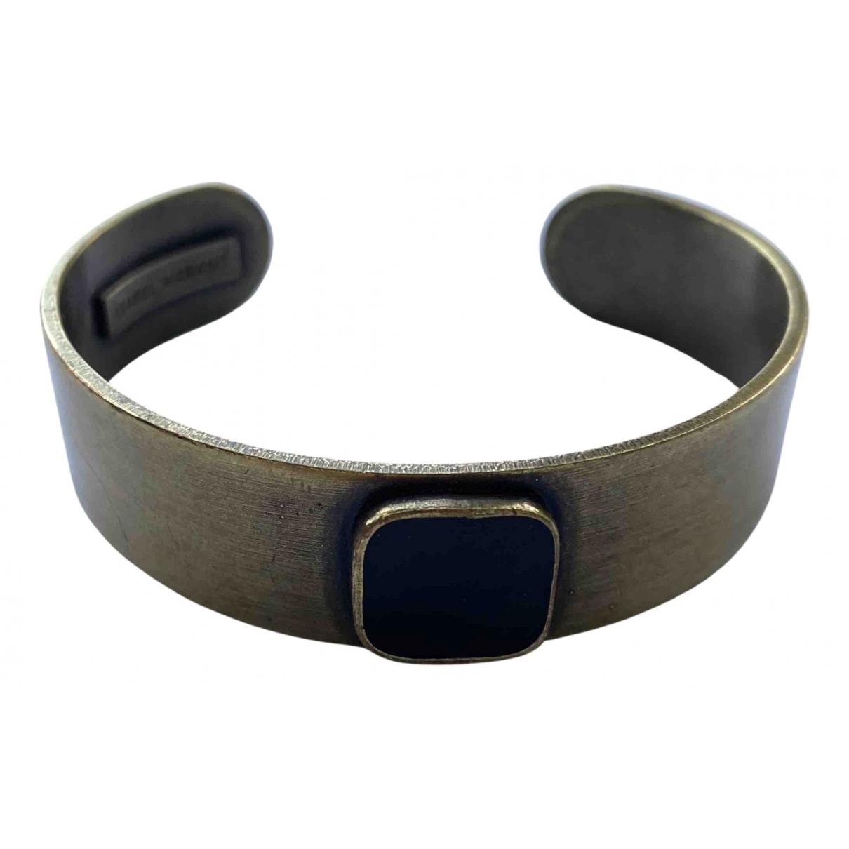 Isabel Marant \N Armband in  Braun Metall