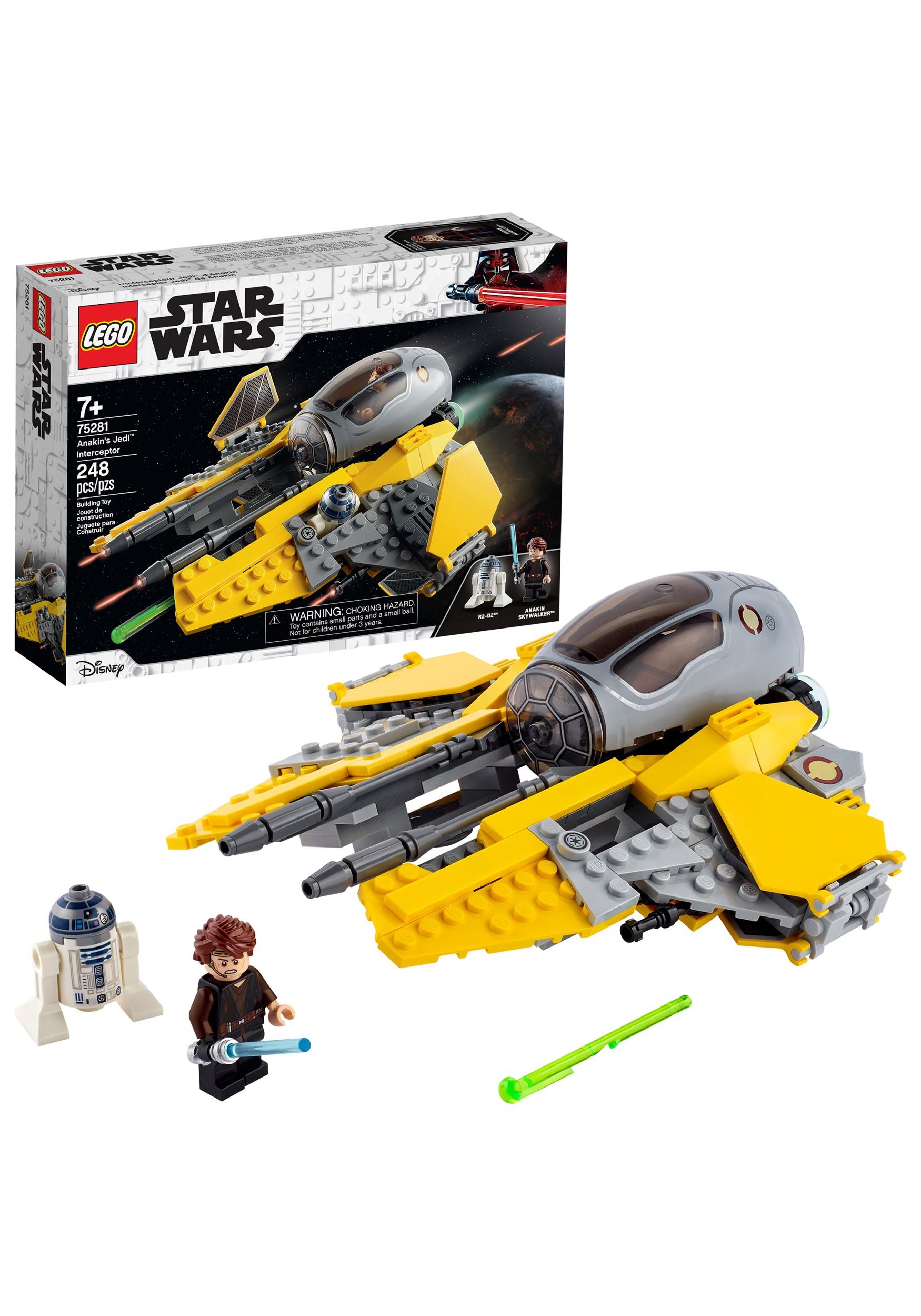 Anakin's Jedi Interceptor - LEGO Star Wars