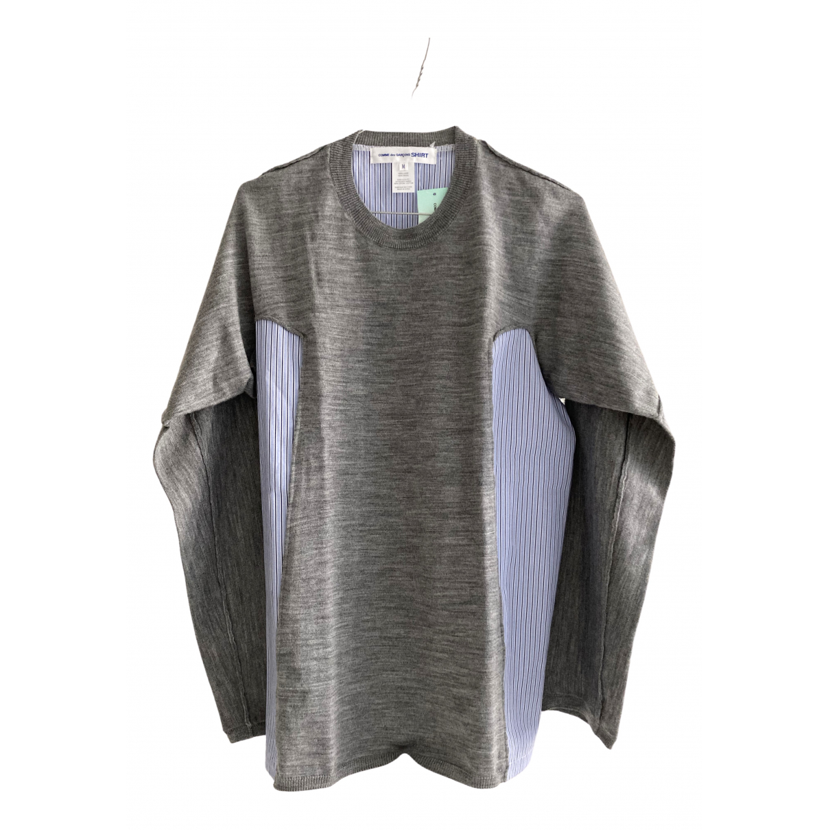 Comme Des Garcons \N Pullover.Westen.Sweatshirts  in  Grau Wolle