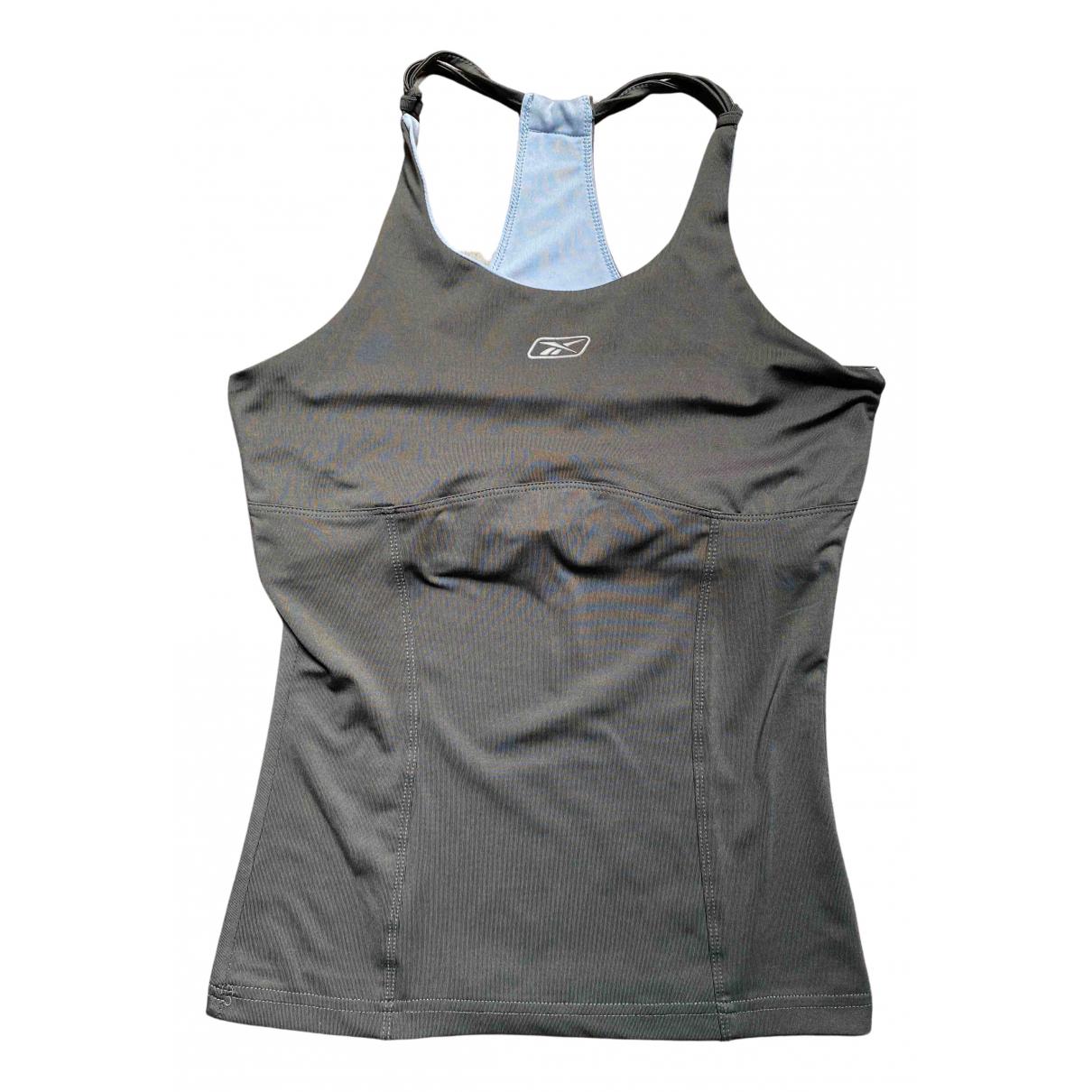 Reebok - Top   pour femme - gris