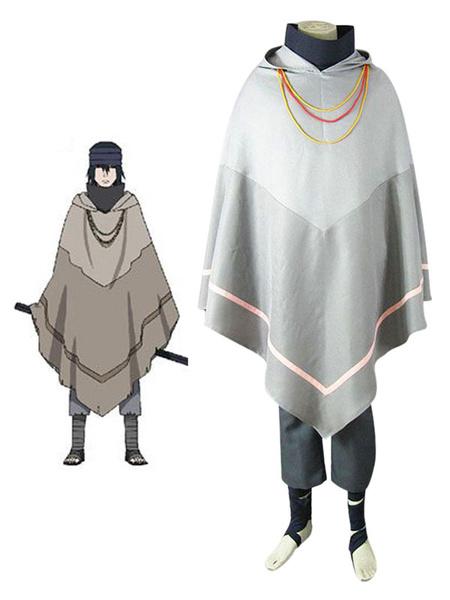 Milanoo Halloween Naruto la pelicula el ultimo Uchiha Sasuke Cosplay traje