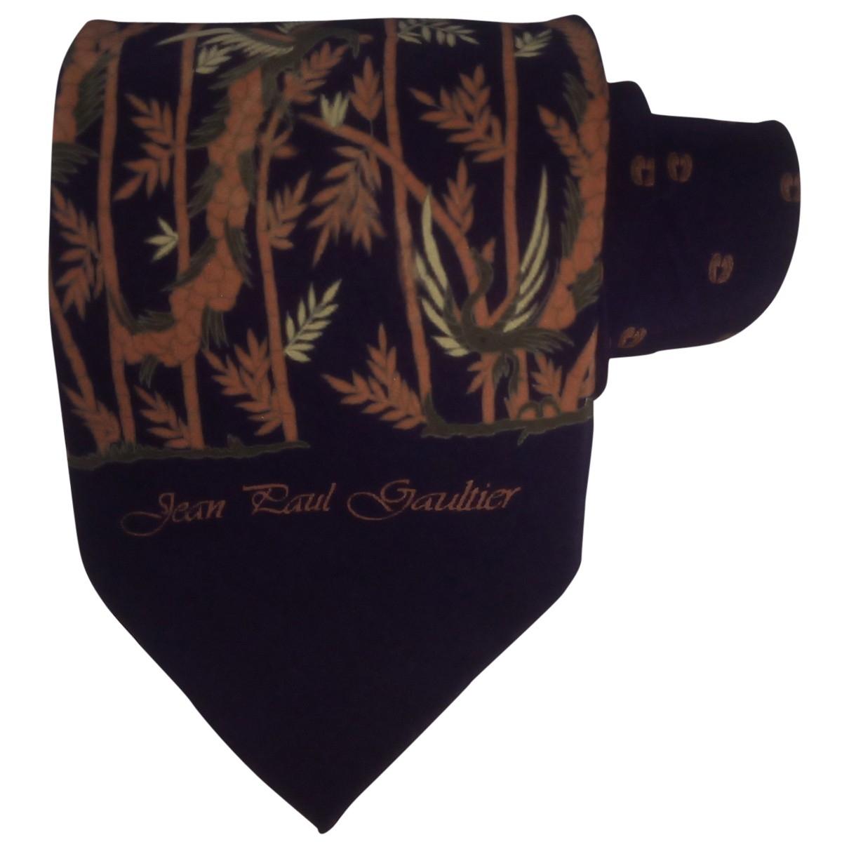 Jean Paul Gaultier \N Purple Silk Ties for Men \N