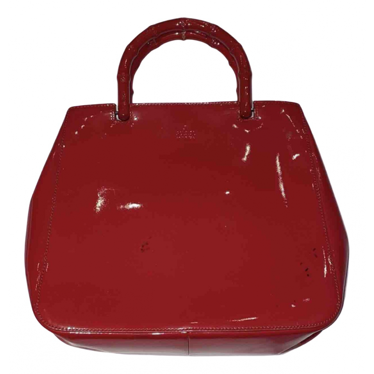 Gucci - Sac a main Bamboo pour femme - rouge