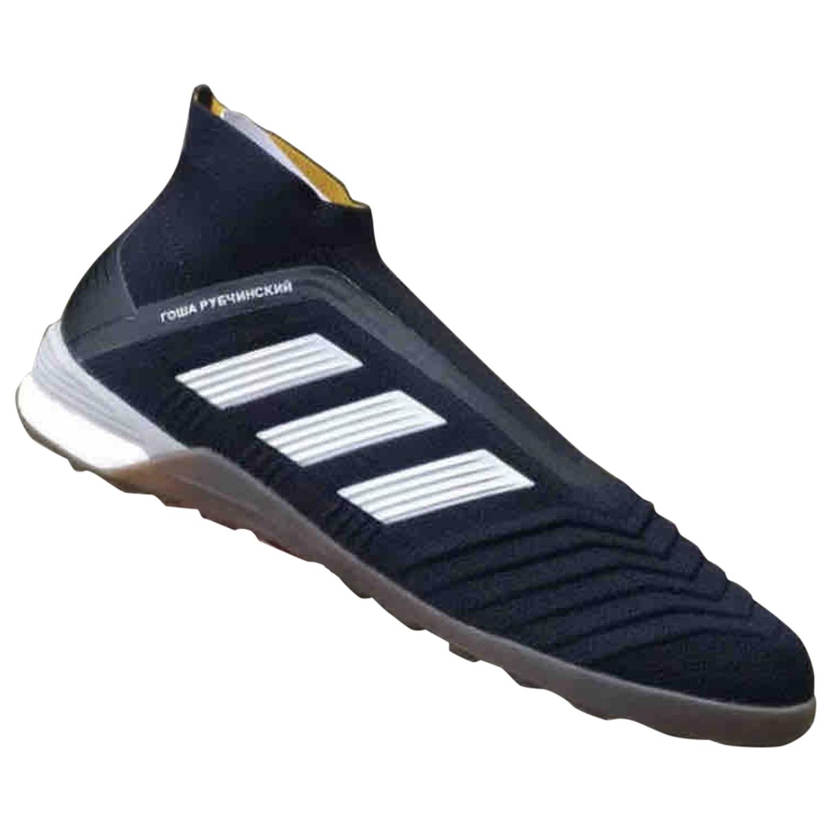 Adidas X Gosha Rubchinskiy \N Sneakers in  Schwarz Leinen